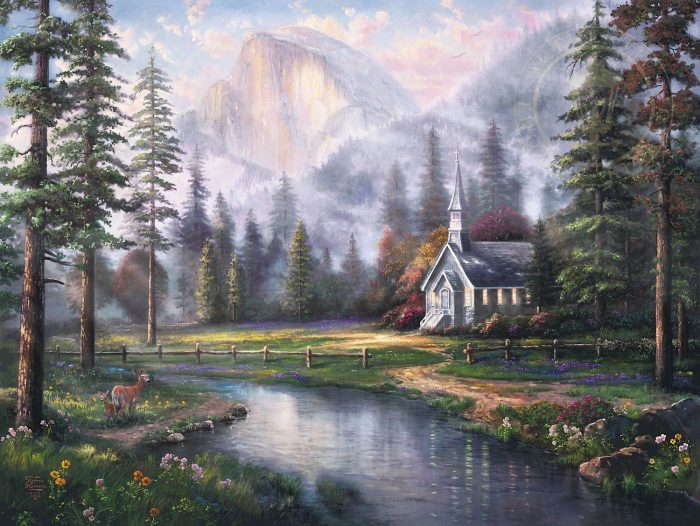 Valley Chapel – Limited Edition Canvas