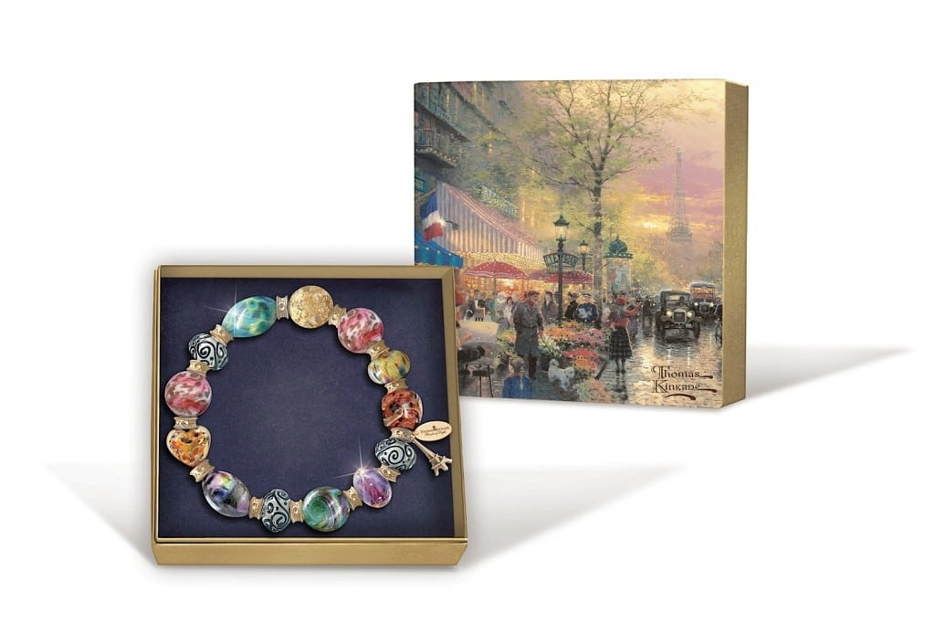The Bradford Exchange Thomas Kinkade Colors of Paris Bracelet