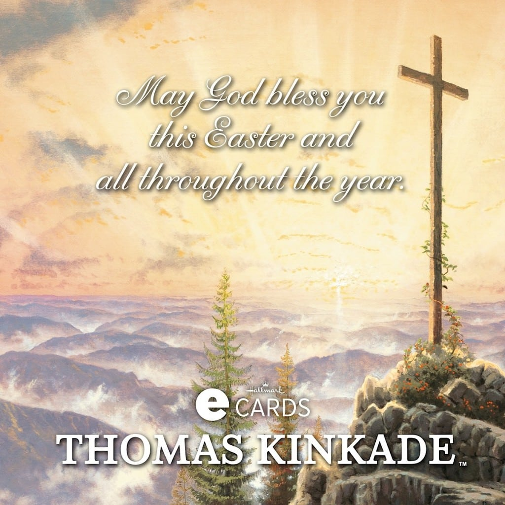 Thomas Kinkade Easter eCards