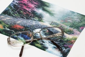 HI-LOOK Thomas Kinkade Micro Fiber Cleaning Cloths