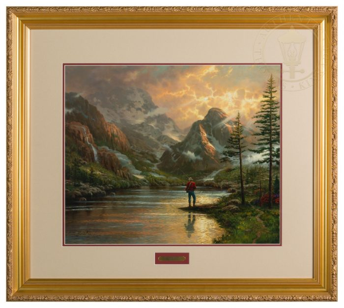 Almost Heaven – 20″ x 24″ SN Limited Edition Framed Print (Carmella Frame)
