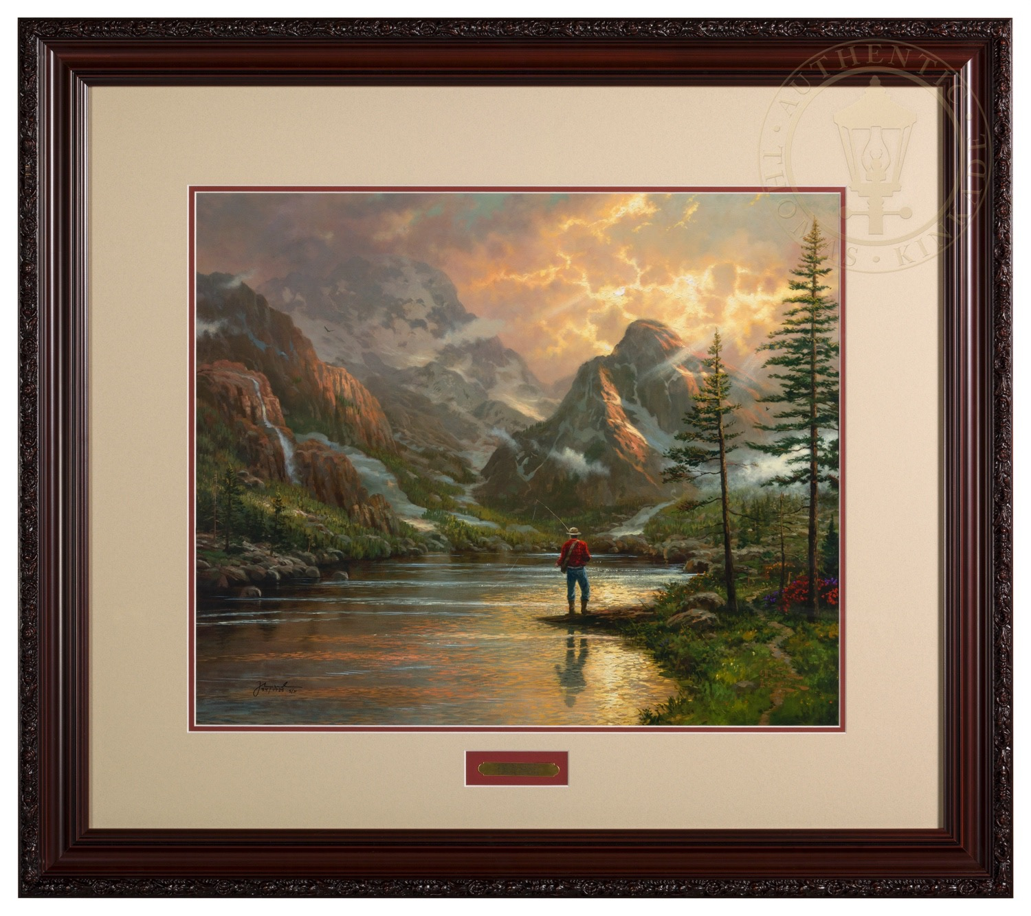 Almost Heaven – 20″ x 24″ SN Limited Edition Framed Print (Donovan ...