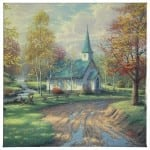 """Aspen Chapel, The - 20"""" x 20"""" Gallery Wrapped Canvas"""