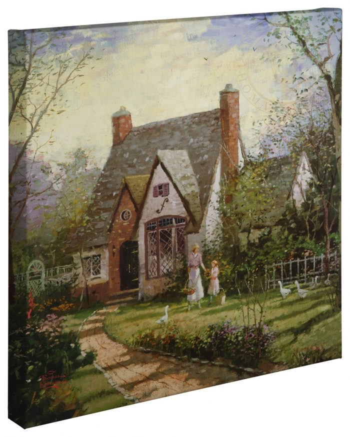 Cottage, The – 20″ x 20″ Gallery Wrapped Canvas