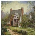 """Cottage, The - 20"""" x 20"""" Gallery Wrapped Canvas"""