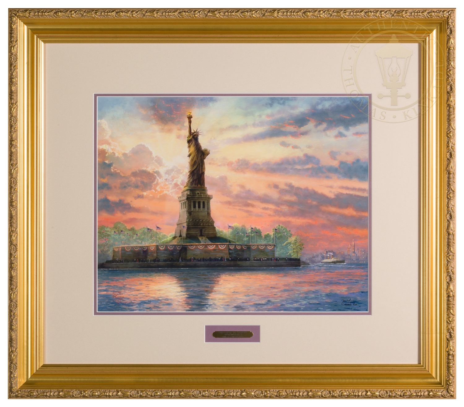 Dedicated To Liberty 16 X 20 Sn Limited Edition Framed