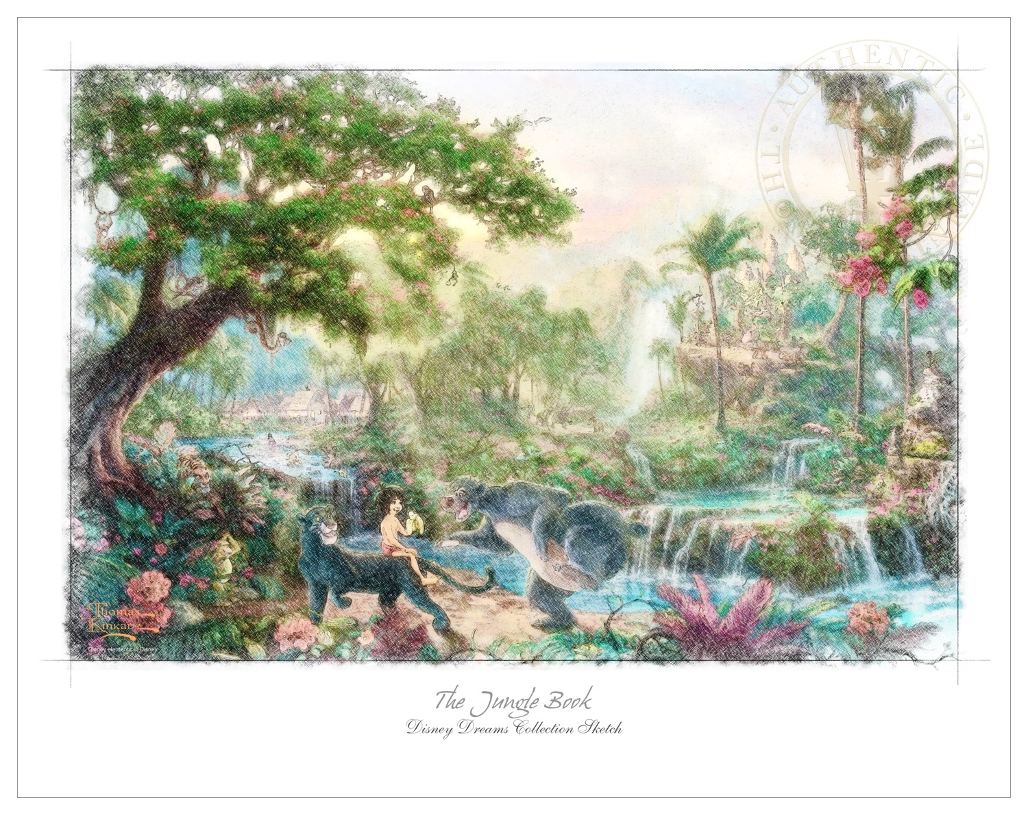 disney dreams collection � set of twelve 11� x 14