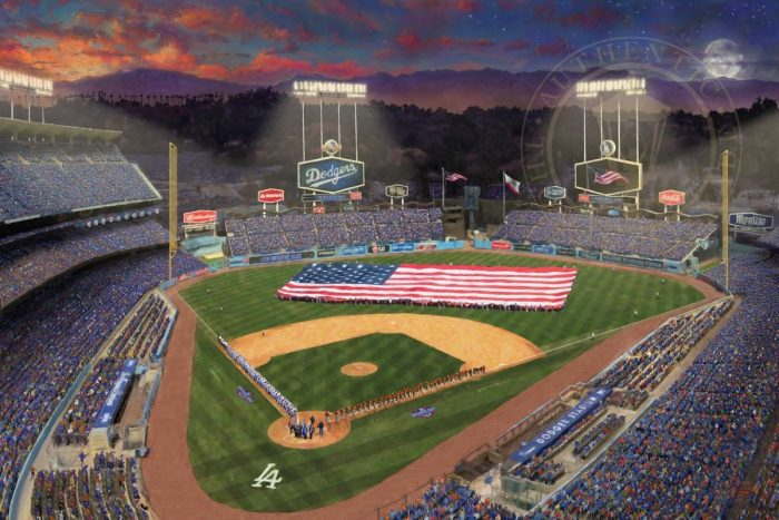 Evening at <em>Dodger Stadium</em>™ – Limited Edition Art