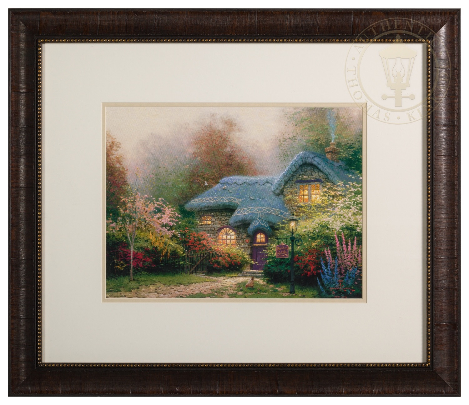 Heather\'s Hutch – Framed Matted Print Signed by Thomas Kinkade | The ...