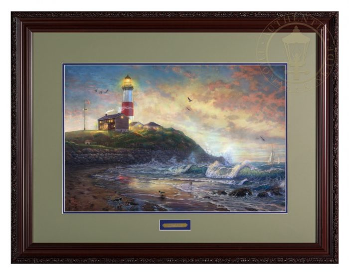Light of Hope – 18″ x 27″ SN Limited Edition Framed Print (Carmella Frame)