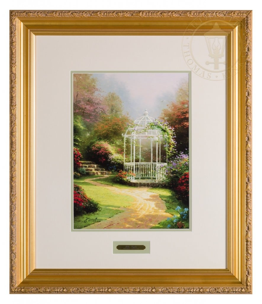 Lilac Gazebo 16 X 12 Sn Limited Edition Framed Print