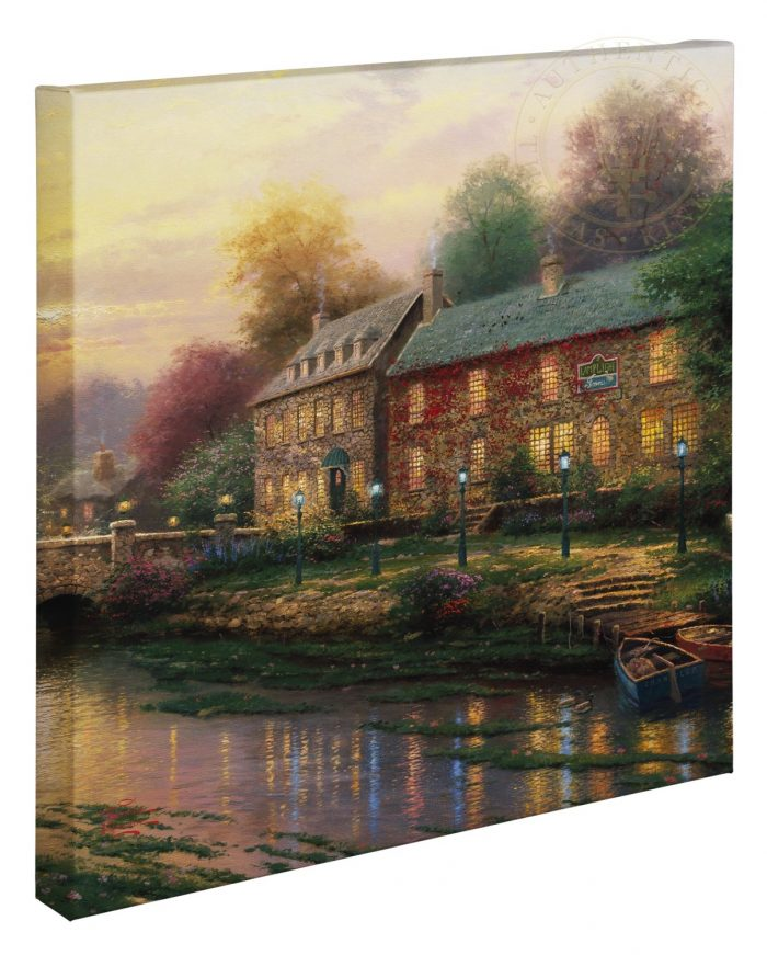 Lamplight Inn – 20″ x 20″ Gallery Wrapped Canvas