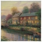 "Lamplight Inn - 20"" x 20"" Gallery Wrapped Canvas"