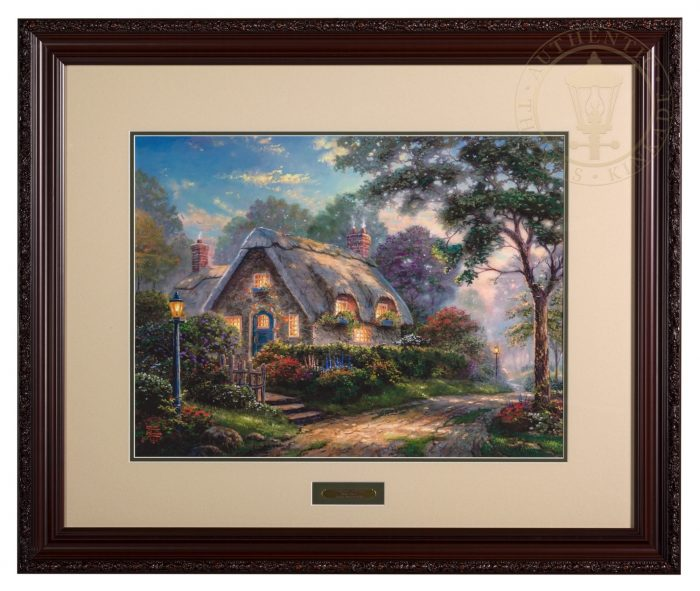 Lovelight Cottage – 18″ x 27″ SN Limited Edition Framed Print (Donovan Frame)