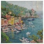 "Portofino - 20"" x 20"" Gallery Wrapped Canvas"