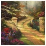 "Spring Gate - 20"" x 20"" Gallery Wrapped Canvas"