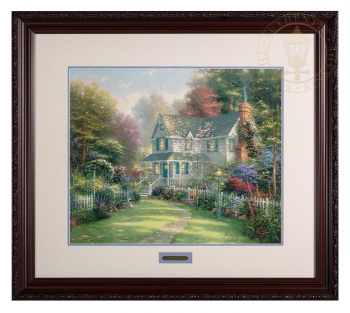 Victorian Garden II – 20″ x 24″ SN Limited Edition Framed Print (Donovan Frame)