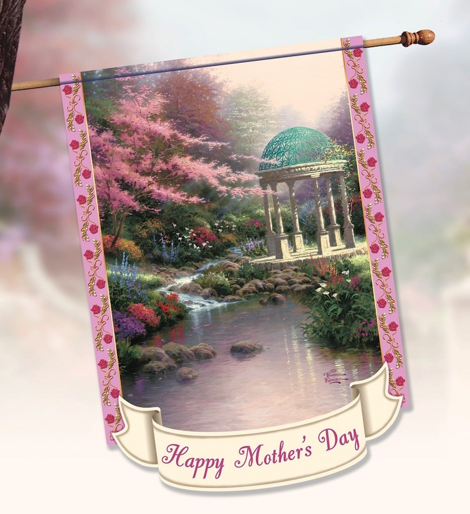 Thomas Kinkade Mother's Day Flag