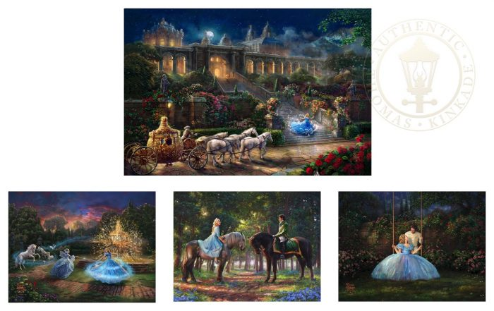 Cinderella – Limited Edition Complete Set of Four