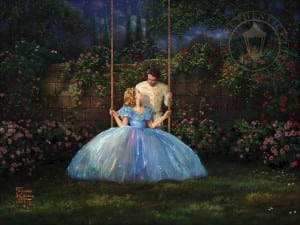 Thomas Kinkade Cinderella Dreams Come True Limited Edition Art