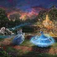 Thomas Kinkade Cinderella Wishes Granted Art