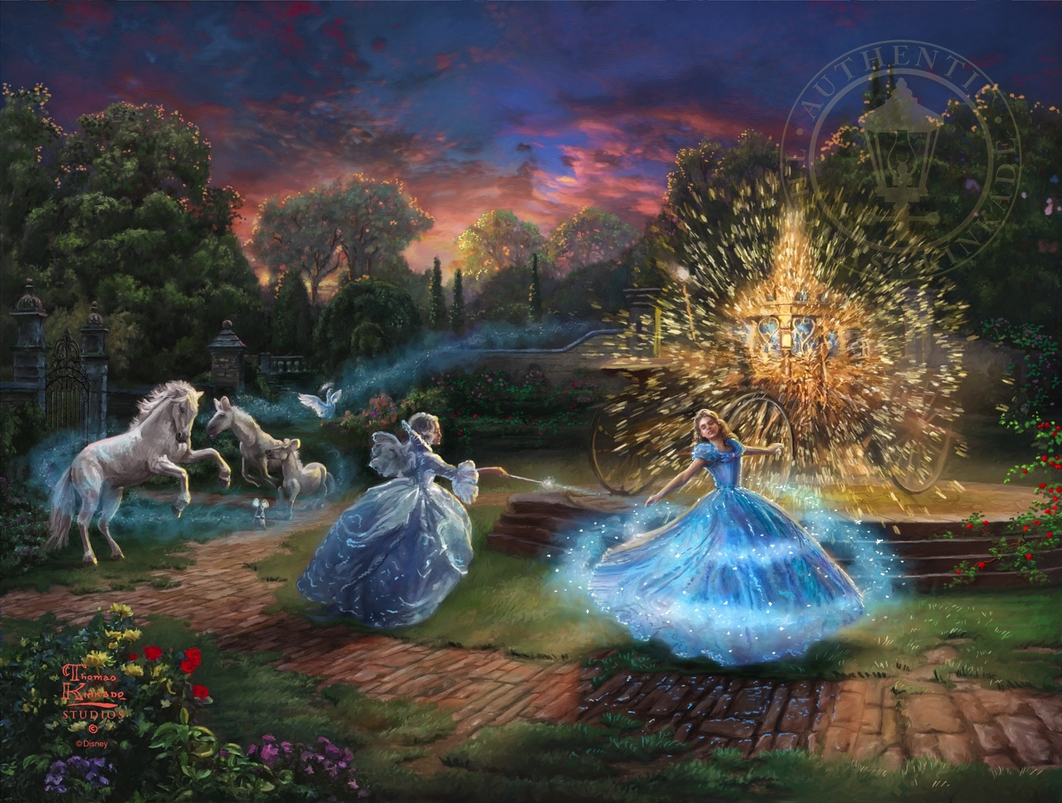 Wishes Granted The Thomas Kinkade Company