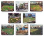 Major League Baseball™ Park Collection  (Set of 8) – 8″ x 10″ Gallery Wrapped Canvas