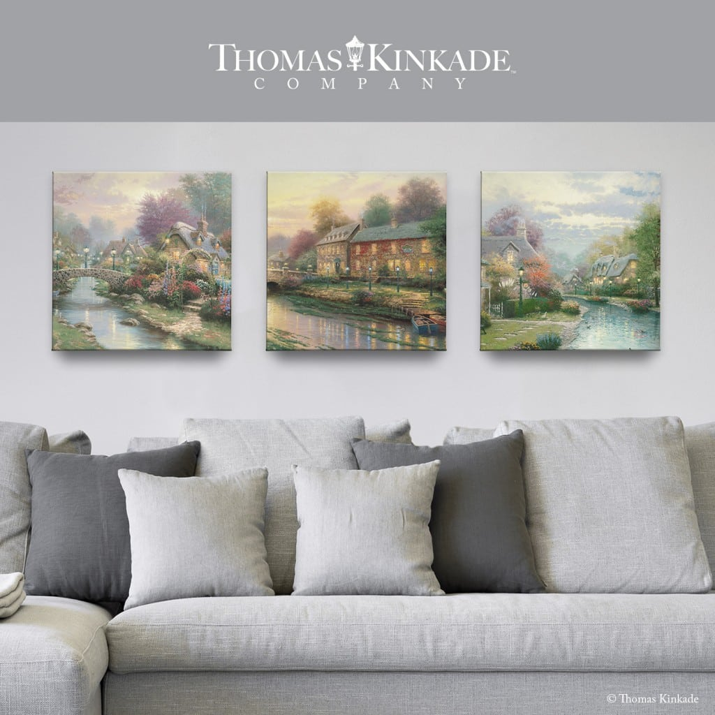 Thomas Kinkade Gallery Wrapped Canvas Sweepstakes