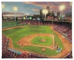 Fenway Park 8 x 10 Gallery Wrapped Canvas - Front View