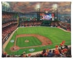 San Francisco Giants It's Our Time 8 x 10 Gallery Wrapped Canvas - Front View