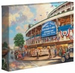 <em>Wrigley Field</em>™: Memories and Dreams &#8211; 8&#8243; x 10&#8243; Gallery Wrapped Canvas