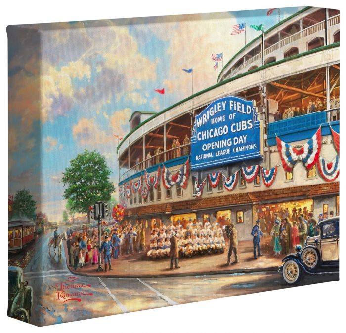 <em>Wrigley Field</em>™: Memories and Dreams – 8″ x 10″ Gallery Wrapped Canvas