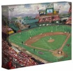 World Series™, American League Champions, Anaheim Angels – 8″ x 10″ Gallery Wrapped Canvas