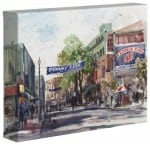 Yawkey Way – 8″ x 10″ Gallery Wrapped Canvas