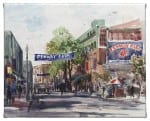 Yawkey Way 8 x 10 Gallery Wrapped Canvas - Front View