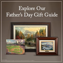 Thomas Kinkade Father's Day Gift Guide
