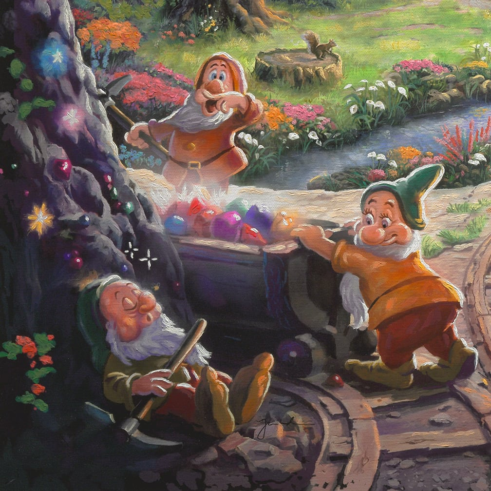 Snow White and the Seven Dwarfs – Limited Edition Art | Thomas