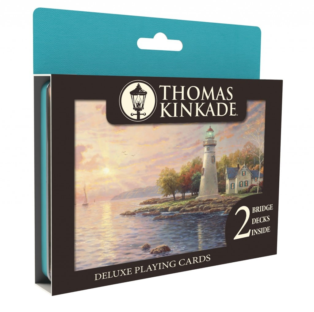 Ceaco Thomas Kinkade Deluxe Playing Cards
