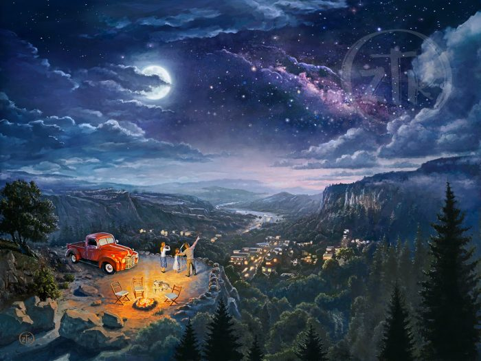 Beyond The Farthest Star – Zac Kinkade, Limited Edition Canvas