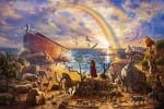 Noah's Ark – Zac Kinkade, Limited Edition Canvas
