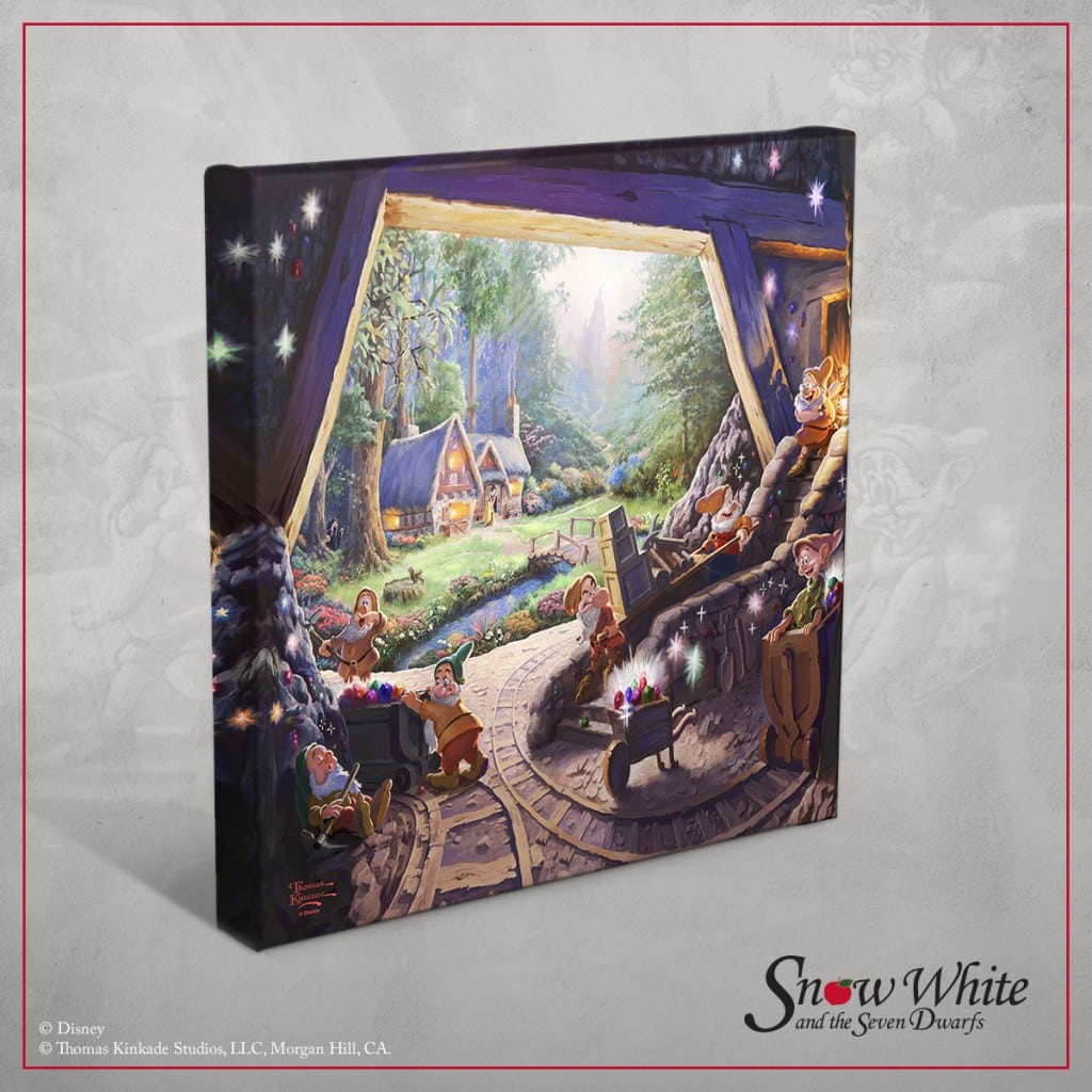 Snow White and the Seven Dwarfs - Thomas Kinkade Studios