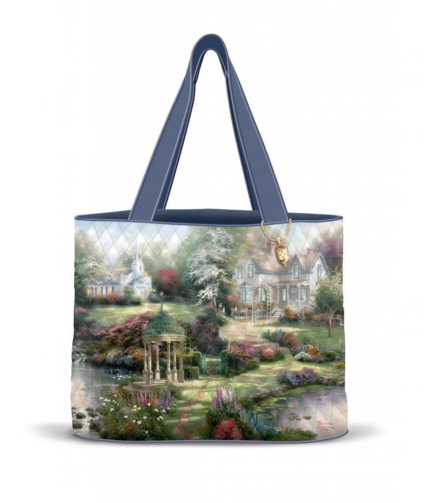 Thomas Kinkade Totebag by the Bradford Exchange