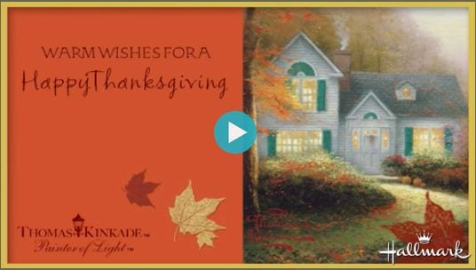 Hallmark Thanksgiving eCard
