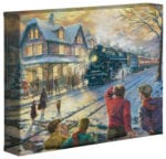 All Aboard for Christmas – 8″ x 10″ Gallery Wrapped Canvas