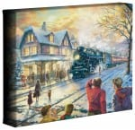 "All Aboard for Christmas – 8"" x 10"" Gallery Wrapped Canvas"