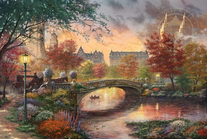 Autumn in New York – Limited Edition Canvas