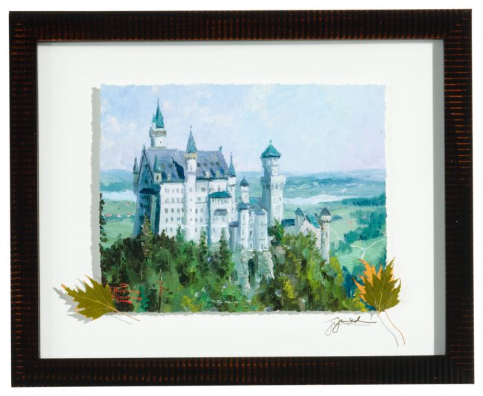 Neuschwanstein Castle – Deckled Edge Floating Print