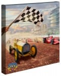 A Century of Racing! The 100th Anniversary Indianapolis 500 Mile® Race – 14″ x 14″ Gallery Wrapped Canvas