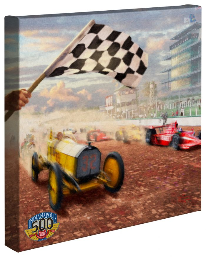 Century of Racing, A – 14″ x 14″ Gallery Wrapped Canvas