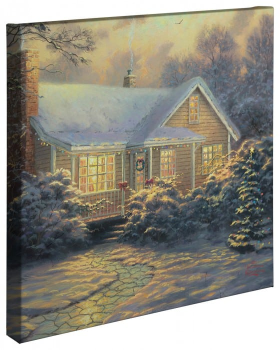 Christmas Cottage (Movie Release) – 20″ x 20″ Gallery Wrapped Canvas
